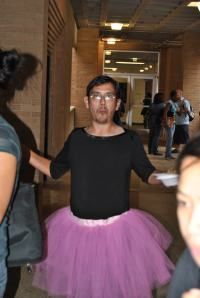 So I am wearing a tutu! What's it to ya?